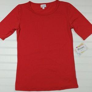 Lularoe XS Red Gigi Shirt